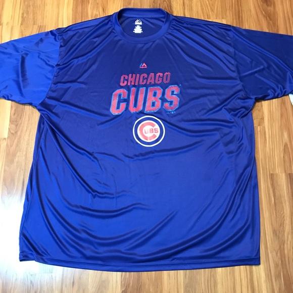 Majestic mens 4XL Chicago Cubs t shirt NWT 3daa6e3ea